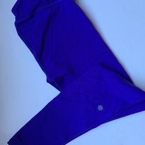 Athleta Girl Purple Leggings Size XL